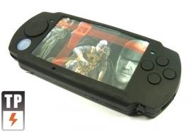 Silicone Beschermhoes PSP Slim & Lite 2000-3000 ZWART