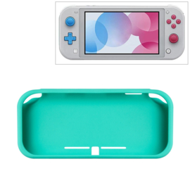 Silicone Bescherm Hoes Skin voor Nintendo Switch Lite - Turquoise