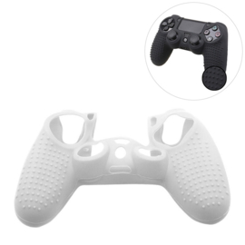 Grip Silicone Hoes / Skin voor Playstation 4 PS4 Controller    Transparant