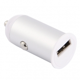 USB 12v Auto-Oplader voor iPad - iPhone  - iPod  2.1 amp