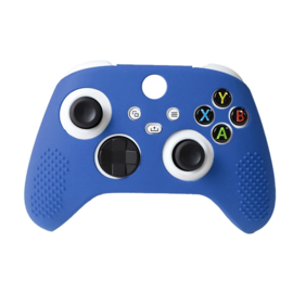 Silicone Hoes / Skin voor XBOX Series X -  S Controller  Blauw