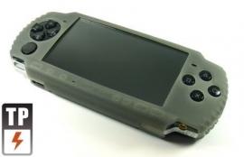 Silicone Beschermhoes PSP Slim & Lite 2000-3000 Grijs