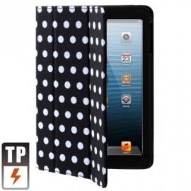 Bescherm-Opberg Hoes Etui Pouch Map voor Apple iPad Mini Zwart-Wit
