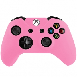 Silicone Hoes / Skin voor XBOX ONE Controller  Roze