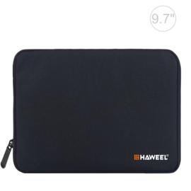 Bescherm-Opberg Hoes Etui Pouch Sleeve voor  iPad Air 9.7  Zwart