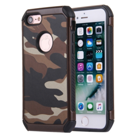 iPhone 7 of 8   Tough Armor-Case Bescherm-Cover Hoes - Camouflage Bruin