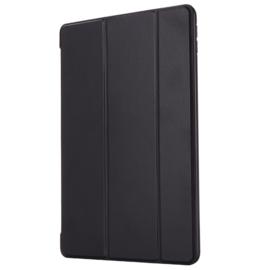 TPU Bescherm-Cover Hoes Map voor iPad 10.2  -  Zwart *  A2197 - A2198