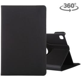 360º Bescherm-Etui Map voor Samsung Galaxy Tab A7 10.4 -   Zwart