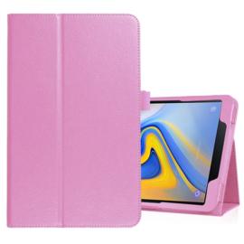 Bescherm-Etui Hoes Map voor Samsung Galaxy Tab A 10.5  Roze