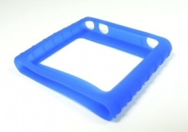 Silicone Bescherm-hoes voor iPod Nano 6G  Blauw