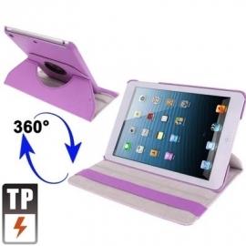 360º Bescherm-Cover Hoes Etui voor iPad Mini Paars