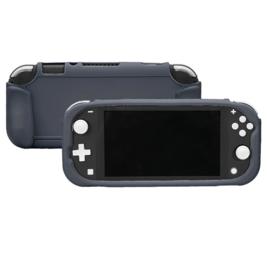 TPU Silicone Bescherm Hoes Grip voor Nintendo Switch Lite - Grijs