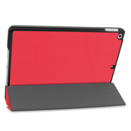 Bescherm-Cover Hoes Map voor iPad 10.2 - 2019 -   Rood   A2197 - A2198