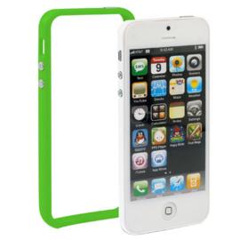 Bescherm-Bumper voor iPhone 5 - 5S - SE  -   Groen