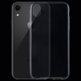 Ultra Dunne TPU Slim Cover Hoes voor iPhone XR - Transparant