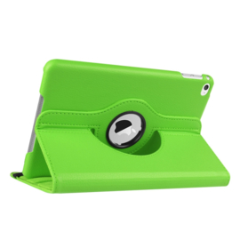 360º Standaard Bescherm Hoes Map voor iPad Mini 4 - Mini 5  Groen