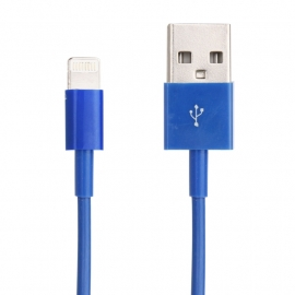 Lightning USB Data Kabel voor iPhone 5 en 5S  Blauw