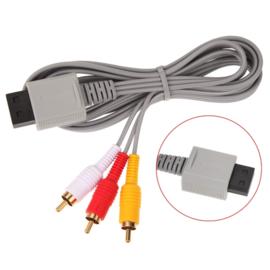 AV-Scart kabel voor Nintendo Wii  - RCA 480p