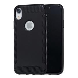 iPhone XR - Slim TPU Bescherm-Hoes Skin - Zwart