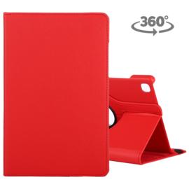 360º Bescherm-Etui Map voor Samsung Galaxy Tab A7 10.4 -   Rood
