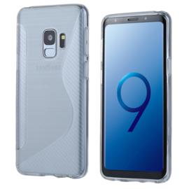 Samsung Galaxy S9 - S-Line TPU Bescherm-Hoes Skin - Transparant