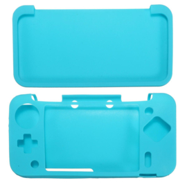 Silicone Bescherm Hoes voor Nintendo 2DS XL  Turquoise