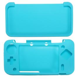 Silicone Bescherm Hoes voor Nintendo 2DS XL  Turquoise