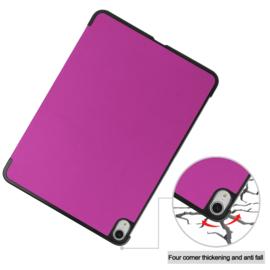 Slim Bescherm-Cover Hoes Map voor iPad Air - 10.9 -  Paars