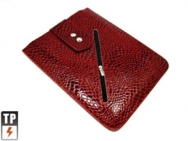 Bescherm-Opberg Hoes Pouch Sleeve voor iPad - iPad Air    Rood