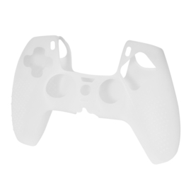 Grip Silicone Hoes / Skin voor Playstation 5 PS5 Controller    Transparant