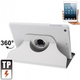 360º Bescherm-Cover Hoes Etui voor iPad Mini  1  Wit