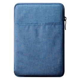 Bescherm-Opberg Hoes Etui Pouch Sleeve voor iPad 10.2 - iPad Air 9.7   Blauw
