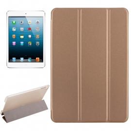 Bescherm-Cover Etui met Smart Cover voor iPad Mini 4   Goud *