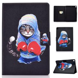 Boxing Cat - Bescherm-Etui Map voor iPad 10.2 - iPad Air 10.5