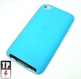 Silicone Bescherm-Hoes voor iPod Touch 4 4G Lichtblauw Nieuw!