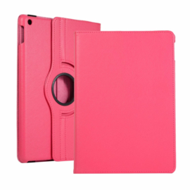 360º Standaard Hoes Map voor iPad 10.2 - iPad Air  10.5  - Magenta -  A2197  A2152