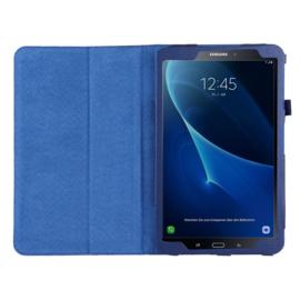 Bescherm-Etui Hoes Map voor Samsung Galaxy Tab A 10.1 - 2016  Blauw