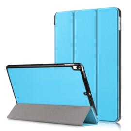 iPad 9.7 -  Bescherm-Cover Hoes Map met Smart Cover  Lichtblauw