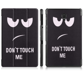 "Bescherm-Opberg Map voor Galaxy Tab A 10.5  -  ""Don't Touch my Pad"""