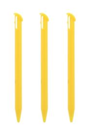 3x Stylus pen voor Nintendo New 3DS XL  Geel