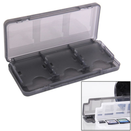Spel-Box voor 6 Nintendo New 3DS XL Game Cards