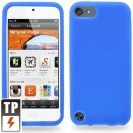 Silicone Bescherm Hoes Skin Etui voor iPod Touch 5 5G 6 6G  Blauw