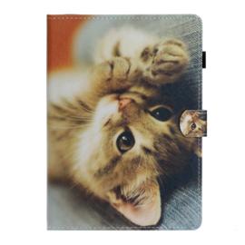 Young Cat  - Bescherm-Etui Map Hoes voor iPad 10.2 - iPad Air 10.5