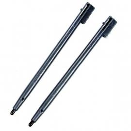 2x Stylus pen voor Nintendo DS   Zwart