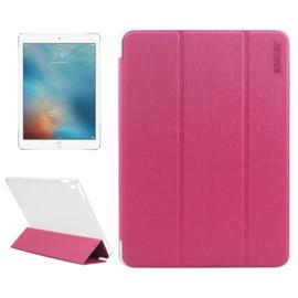 iPad 9.7 PRO - Enkay Slim Bescherm-Hoes Etui met Smart Cover - Magenta