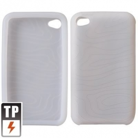 Silicone Bescherm-Hoes Skin voor iPod Touch 4 4G Transparant