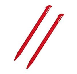 2x Stylus pen voor Nintendo New 3DS XL  Rood