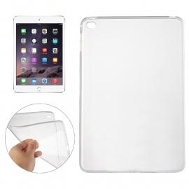 TPU Flex Bescherm-Cover Skin voor iPad Mini 4   Transparant