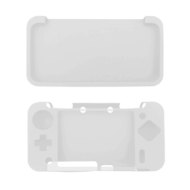 Silicone Bescherm Hoes voor Nintendo 2DS XL  Transparant