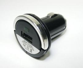 USB 12v Autolader - Oplader voor iPod Classic  5V - 1000mAh